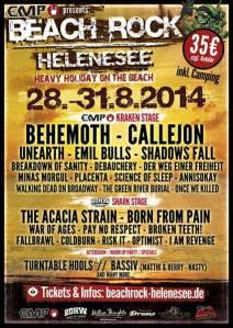 Beachrock Helenesee 2014