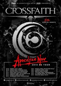 Crossfaith EuropeanTour2014