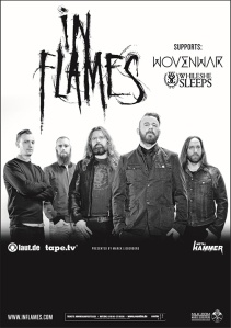 In Flames Tour 2014