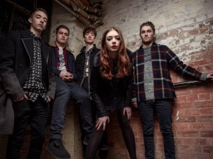 The Marmozets, photographed in East London 29/1/14