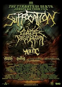 Infernal Tenebra Tour-Plakat